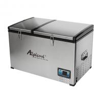 Холодильник Alpicool BCD80 80л двухкамерный 12/24/110/220V