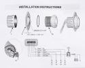 Указатель аварийной сигнализации двигателя, д. 52 мм