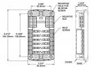 Панель бортового питания Blue Sea 5026
