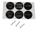 Кнопка управления якорной лебедкой, палубная 12-24 В, 200А