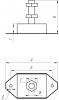 Подушка двигателя Mercruiser, Volvo Penta, Yamaha GLM