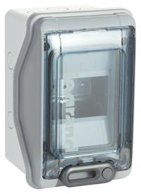 Распределительный шкаф Legrand Plexo, 4м IP65 навесной, пластик
