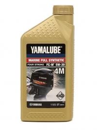 Масло 4-тактное синтетическое Yamalube 4M 5W-30 (0,946 л)
