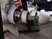 Угловая колонка (нога) со шхуны Nico NSD 161-3
