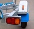 Прицеп для перевозки водной техники (4050х1550мм)