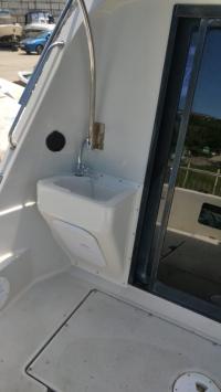 Раковина в кокпит катера