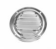 Решетка воздухозаборника круглая 102 мм, нержавейка