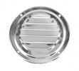 Решетка воздухозаборника круглая 126 мм, нержавейка