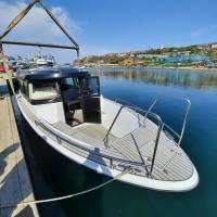 Yamaha STR29 Flexiteek на кастомной лодке