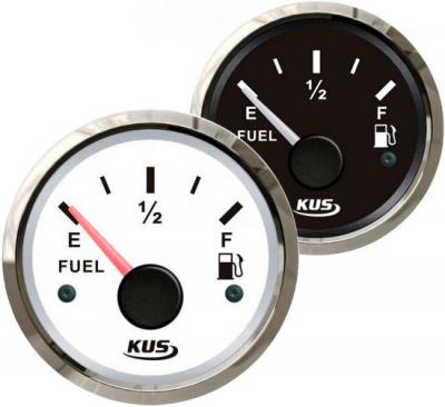 Указатель уровня топлива 0-190 Ом (ЕВРО), д. 52 мм