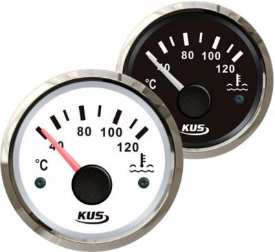 Указатель температуры двигателя 40-120 гр.,д. 52 мм