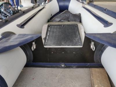 Усиление транца лодки ПВХ