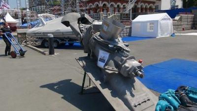 Водомёт на катер для силовой установки до 600 л. с.