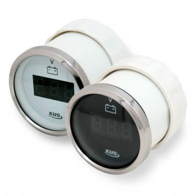 Вольтметр цифровой 8-32 В,с белым и черным циферблатом