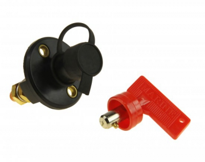 Выключатель массы (ключ) с защитным колпачком